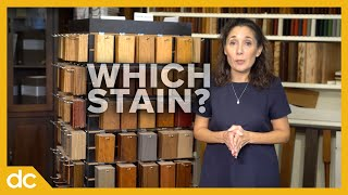 Choosing The Right Furniture Stain Or Wood Finish  (Amish Furniture Finishes)