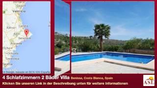 preview picture of video '4 Schlafzimmern 2 Bäder Villa zu verkaufen in Benissa, Costa Blanca, Spain'