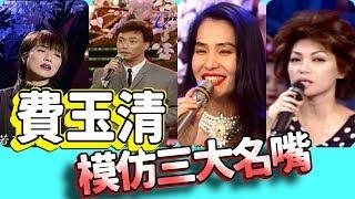 【龍兄虎弟】精華 -  費玉清模仿演藝圈女星三大名嘴