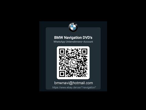 BMW CCC SA609 Navigation Professional Update DVD Wechseln und Blitzer Aktivieren