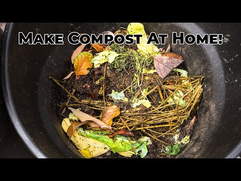 Composting - How To Make Your Own Compost At Home