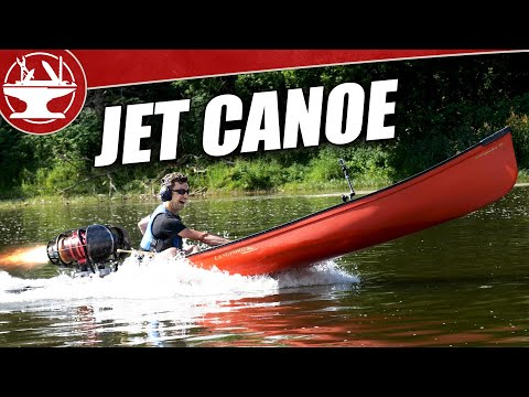 Building a Jet Powered Canoe