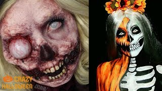 Top 10 Easy Halloween Makeup Tutorials Compilation 2018 / CRAZY HALLOWEEN