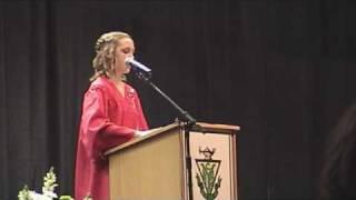 Laura Anderson Grad Speech