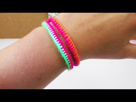 Sommer Armband   Cooles Freundschaftsarmband einfach & schnell selber machen   DIY Idee   UV aktiv