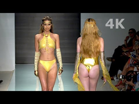 The 8th Continent Swimwear Fashion Show SS 2018 Miami Swim Week 2017 4K UHD