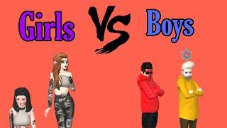 Girls vs Boys (Avakin Life)