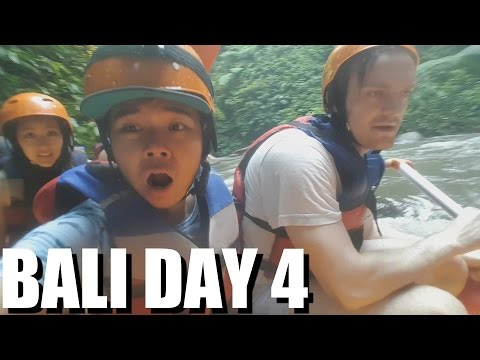Video Bali TOP ATTRACTION: RIVER RAFTING in UBUD. My Indonesia Travel Experiences