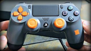 NEW Black Ops 3 PS4 Controller Unboxing and Quick Review