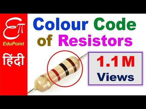 Resistor Color Code in HINDI | 4 Band Resistor