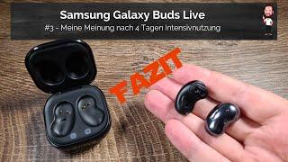 Samsung Buds Live | #3 - Mein Fazit / meine Meinung nach 4 Tagen Intensivtest