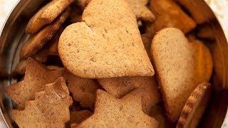 Ароматное печенье с корицей и медом.