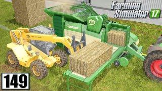 Pellet z kostek słomy - Farming Simulator 17 (#149)