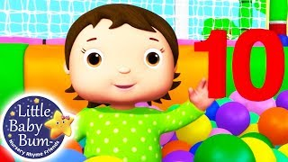 Learn With Little Baby Bum   Ten Little Funny Babies   Nursery Rhymes For Babies   ABCs And 123s