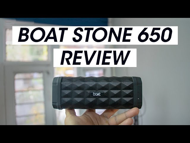 Boat Stone 650 Review - Budget bluetooth speaker under 2000