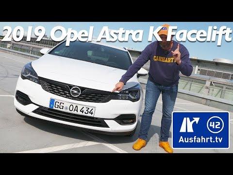 Alles neu!?! 2019 Opel Astra K Facelift - alle Neuerungen