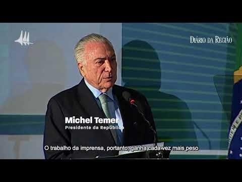Presidente Michel Temer se posicionou contra a fake news