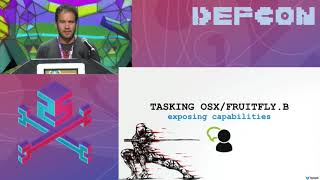DEF CON 25 - Patrick Wardle - Offensive Malware Analysis: Dissecting OSX FruitFly