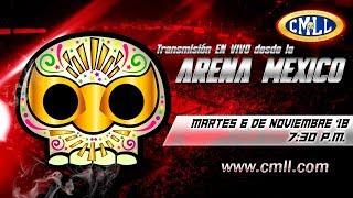 LUCHA LIBRE MARTES DE NUEVOS VALORES DE ARENA MEXICO 6 DE NOVIEMBRE DE 2018 FUNCION COMPLETA