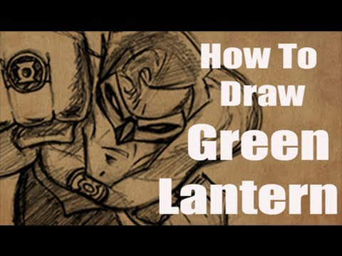 How To Draw Green Lantern (and letter to Mark Crilley)