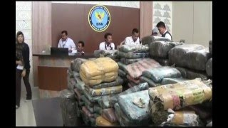 BNN Gagalkan Penyeludupan 245 Bal Ganja