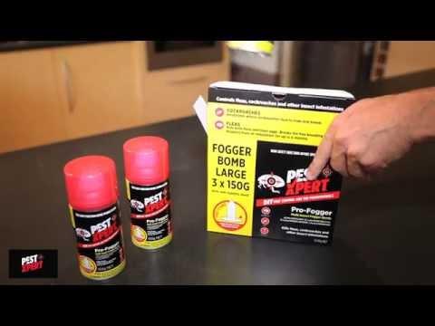 How to use PestXpert Pro Fogger aerosol