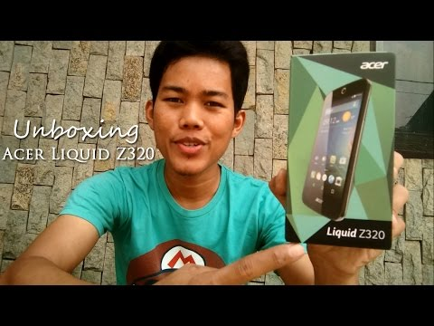 Unboxing + First Impression Acer Liquid Z320 Indonesia