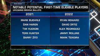 MLB Now looks ahead to the 2021 Hall of Fame ballot