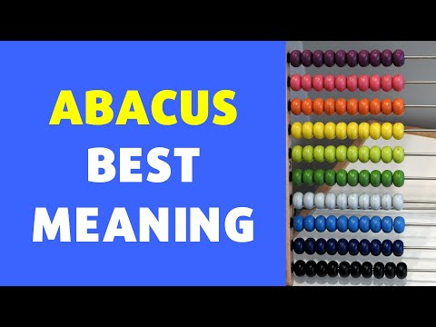 Meaning of Abacus | Definition of Abacus [NEW VIDEO]