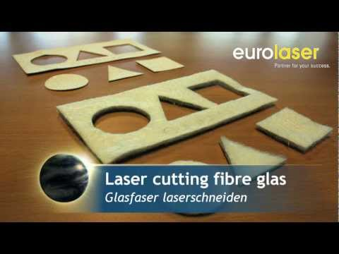 Glass fibre and glass fibre reinforced plastic | Laser cutting