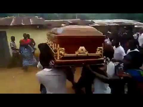 Video: Corpse refuses to be buried, leads villagers to its killer's house