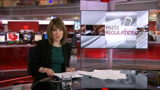 BBC News -- 8pm TOTH (Countdown, Headlines, Titles) from Broadcasting House (18/3/2013)