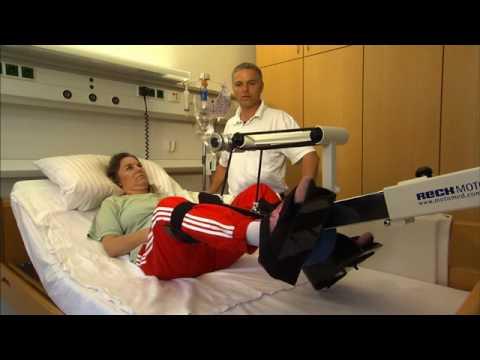 MOTOmed letto2 für liegende Patienten