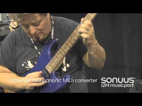 SONUUS i2M musicport MIDI převodník