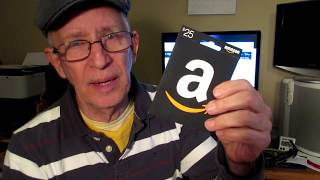 How to find your Amazon gift card number.