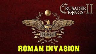 Обзор мода Roman Invasion для Crusader Kings 2 v.2.6.3