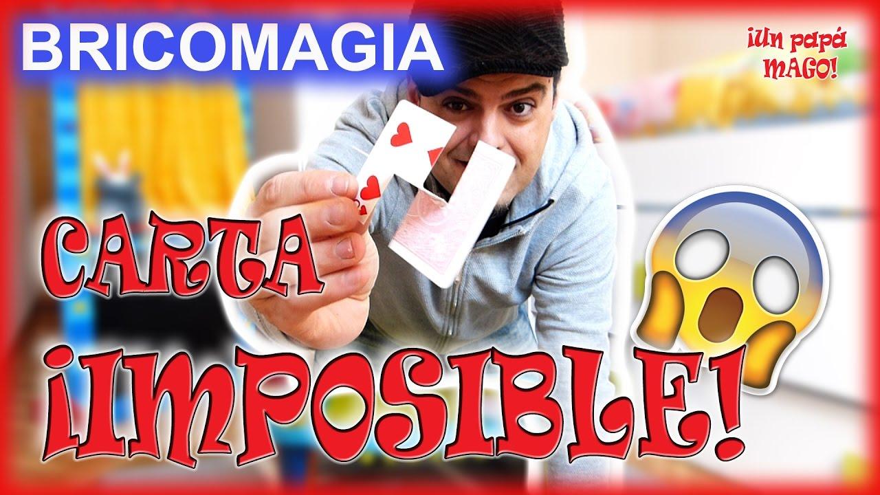 CARTA IMPOSIBLE | ILUSIÓN ÓPTICA | TRUCOS DE MAGIA | BRICOMAGIA