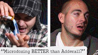 """Adderall VS Psilocybin 