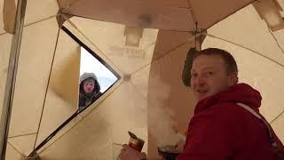 Зимние палатки для рыбалки снегирь 3т