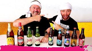 Indian Beer VS American Beer - BEER TASTE TEST   Miami, Florida