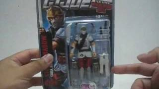 2011 Hasbro G.I. Joe Pursuit of Cobra - Whirlwind Kick Storm Shadow Toy Review
