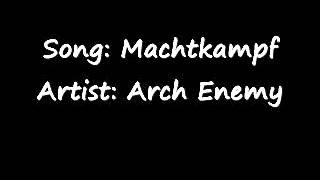 Arch Enemy - Machtkampf