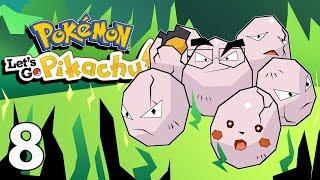 Northernlion Plays: Pokemon: Let's Go Pikachu [Episode 8] (Twitch VOD)