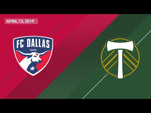 FC Dallas vs. Portland Timbers | HIGHLIGHTS – April 132019