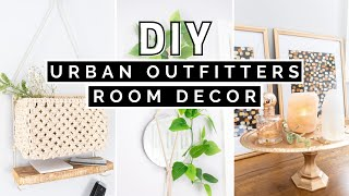DIY URBAN OUTFITTERS INSPIRED ROOM DECOR | $1 AFFORDABLE + EASY DORM ROOM DECOR