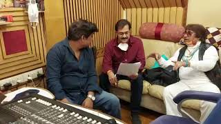 Dilip sen music director with Sudhesh Bhosale ji