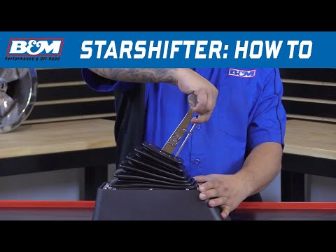 How to Shift a B&M StarShifter