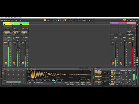 Ableton Live 10 Acid Techno Performance #35