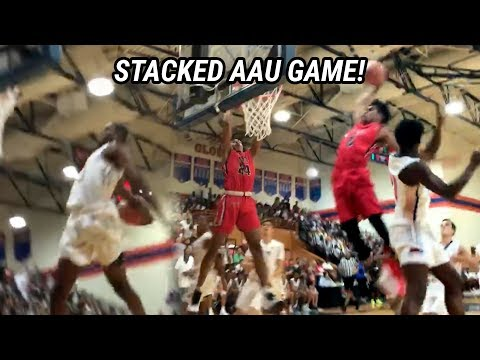 MOST STACKED AAU GAME EVER. Zaire Wade, Scottie Lewis, Aidan Igiehon, Vernon Carey & MANY MORE 😱