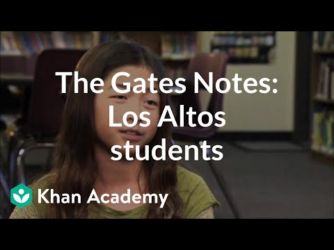 Los Altos Students on Khan Academy